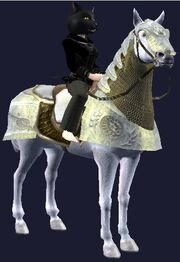 Dervish destrier horse