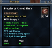 Bracelet of Altered Flesh