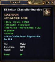 Di'Zokian Chancellor Bracelets