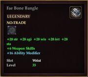 Fae Bone Bangle