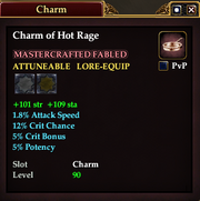 Charm of Hot Rage