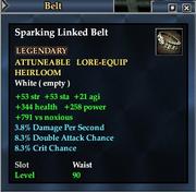 Sparking Linked Belt