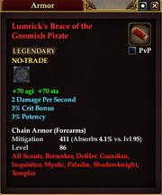 Lumrick's Brace of the Gnomish Pirate