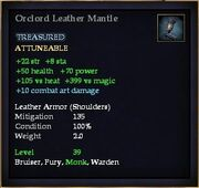 Orclord Leather Mantle
