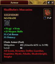 Skullhelm's Moccasins