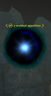 A residual apparition