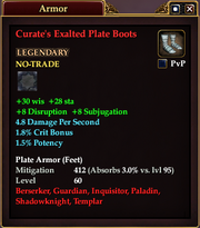 Curate's Exalted Plate Boots