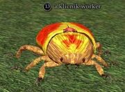 A klicnik worker