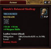 Hanshi's Balanced Skullcap