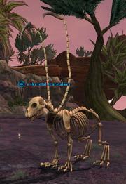 A skeletal fearstalker