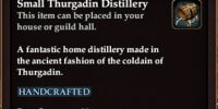 Small Thurgadin Distillery