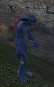 An aquagoblin raider