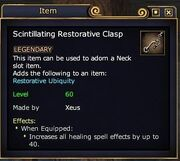 Scintillating Restorative Clasp