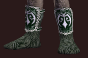 Woven Reptile Hide Boots (Equipped)