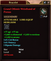 Grand Othmir Wristband of Prexus