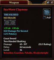 Sea-Worn Claymore