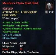 Mender's Chain Mail Shirt