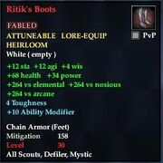 Ritik's Boots