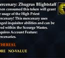 Mercenary: Zhugrus Blightstaff