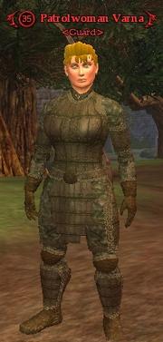 Patrolwoman Varna