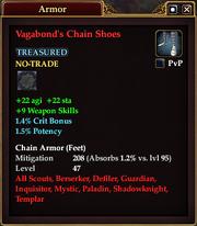 Vagabond's Chain Shoes