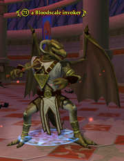 A Bloodscale invoker