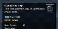 Closed rat trap