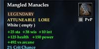 Mangled Manacles