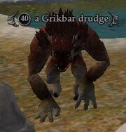 A Grikbar drudge