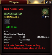 Iron Assault Axe
