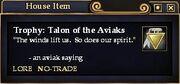 Talon of the Aviak