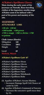 Al'Kabor's Spellborn Gloves