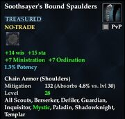 Soothsayer's Bound Spaulders