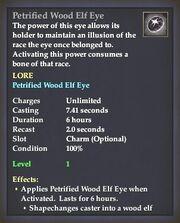 Petrified Wood Elf Eye