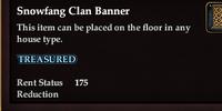 Snowfang Clan Banner