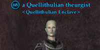 A Quellithulian theurgist