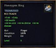 Honeygem Ring