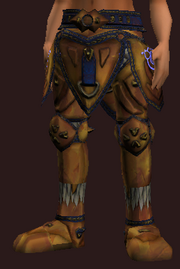 Withering Combine Armor Greaves (Equipped)