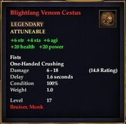 Blightfang Venom Cestus