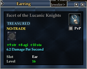Facet of the Lucanic Knights