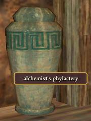 Alchemist's phylactery