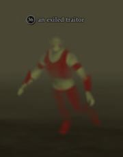 An exiled traitor