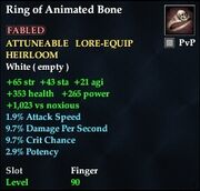 Ring of Animated Bone