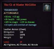 The Gi of Master McGillin