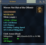 Woven Net Hat of the Othmir