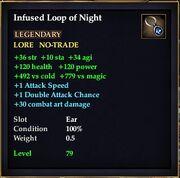 Infused Loop of Night