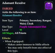 Adamant Resolve (Purple)