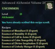 Advanced Alchemist Volume 23
