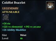 Coldfist Bracelet