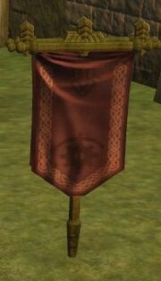 Guild hall amenity - guild buff banner